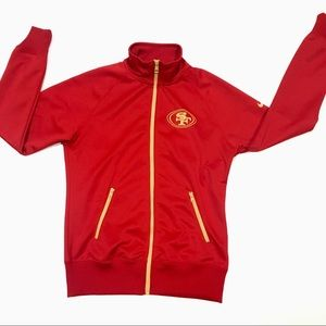 San Fran 49ers Nike Womens Jacket Size Medium